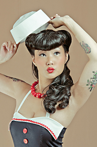 Pin Up Lissa Lee