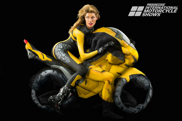 Trina Merry Human Motorcycle